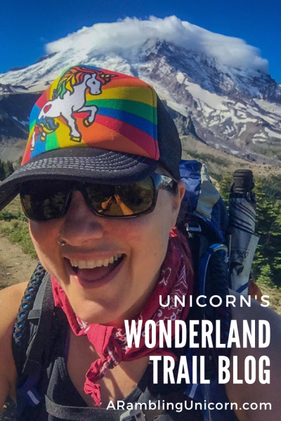 In 2016, Unicorn solo hiked the 93-mile Wonderland Trail around Mt. Rainier. Learn how she prepared for the hike and follow along by reading her daily blog from the Wonderland Trail.