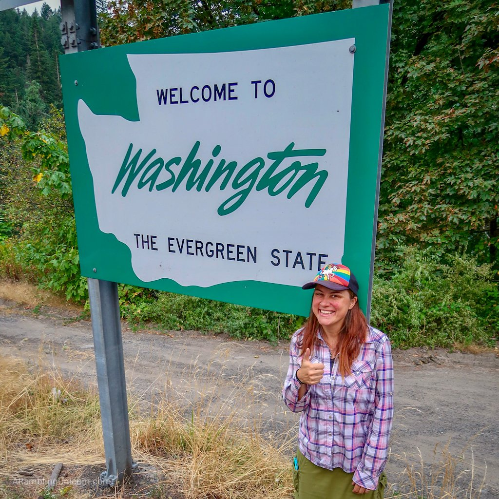 Unicorn's Pacific Crest Trail Blog: I've finally reached my home state!