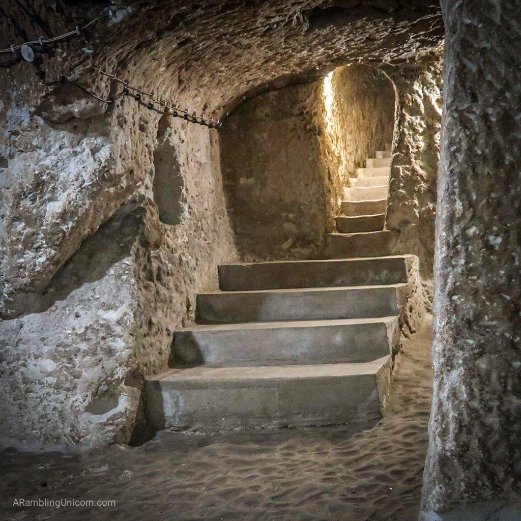Cappadocia Itinerary Day 2: Underground City