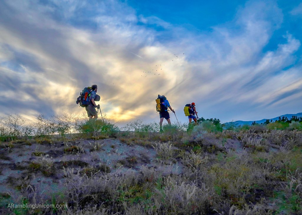Unicorn's Pacific Crest Trail Blog: Hiking along the L.A. Aqueduct in Southern California.