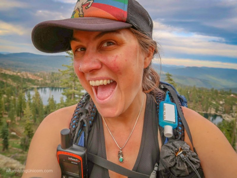 Unicorn's Pacific Crest Trail Blog: Hanging out in the Sierra Buttes Wilderness.