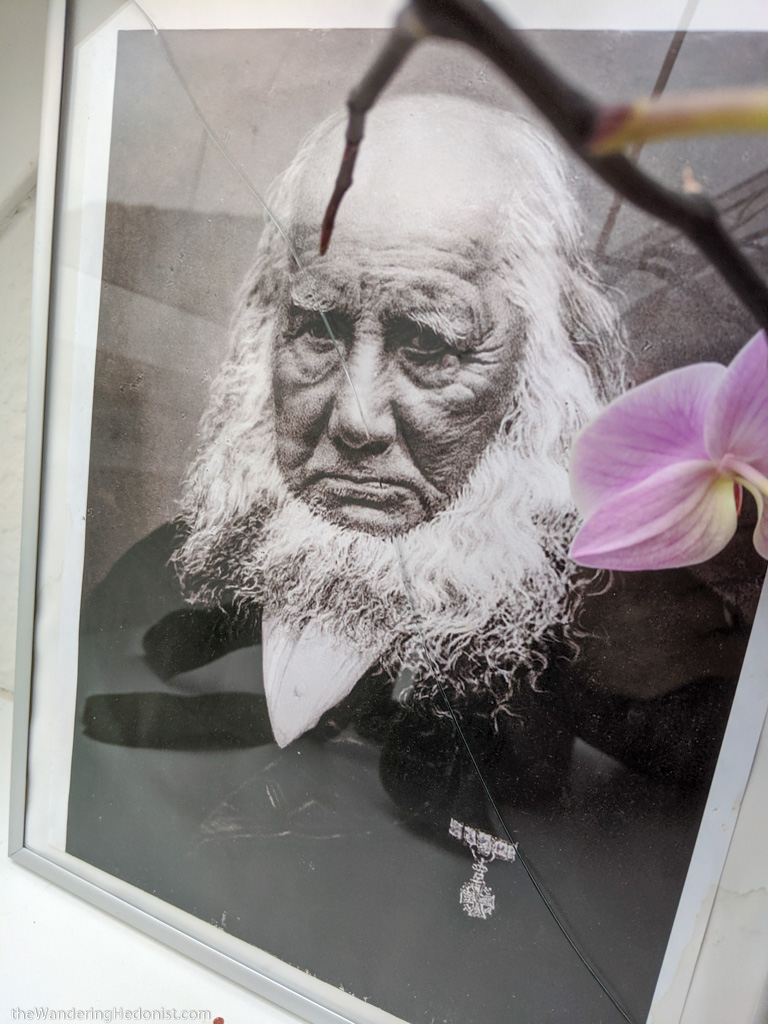 A photo of N.F.S. Grundtvig, the founder of the Danish Folk High School movement. Photo by Daniel.