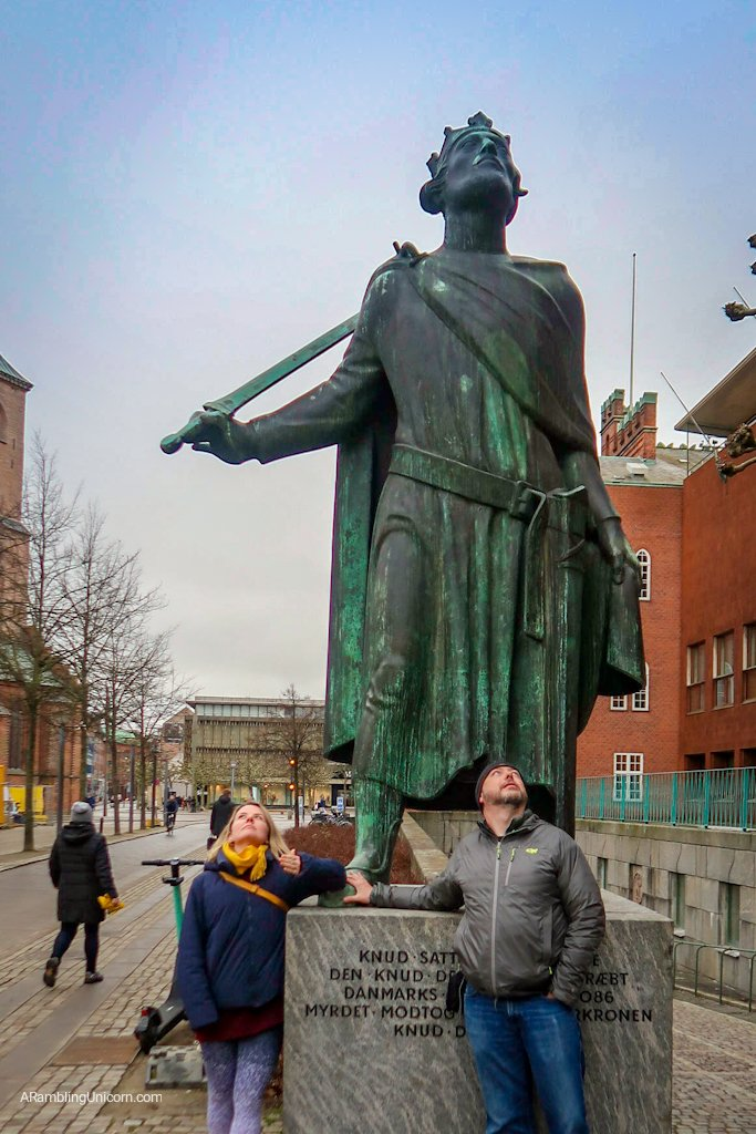 Odense blog: another random statue in Odense