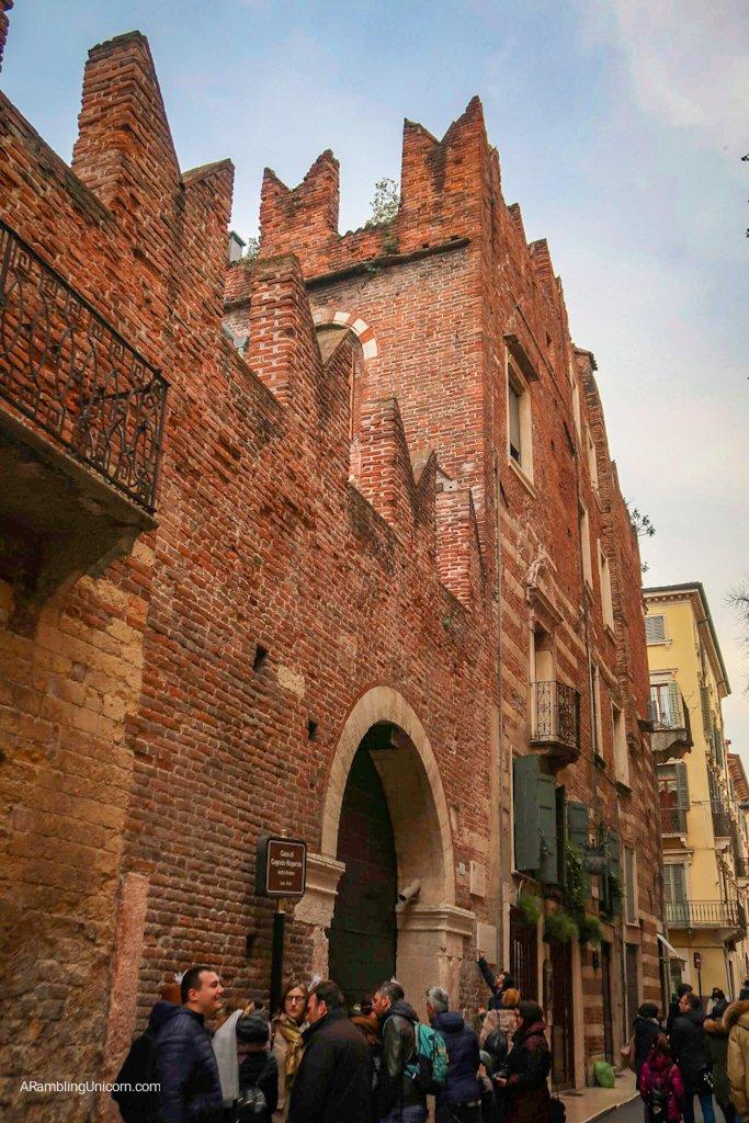 Verona in 24 hours: Romeo's House