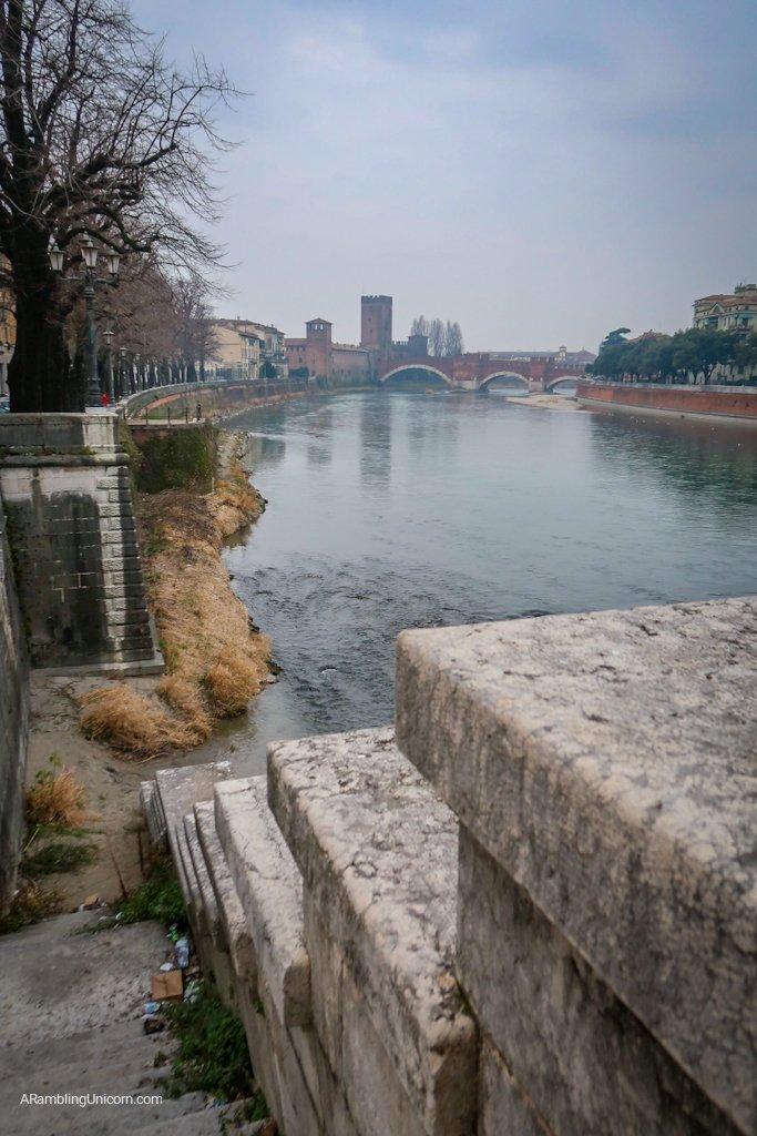 Castelvecchio from a distance