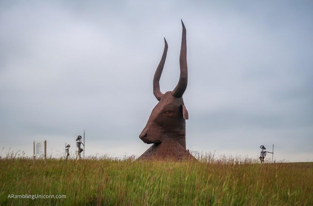 Porter Sculpture Park: A Quirky Roadside Attraction along I-90