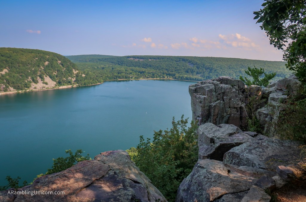 Hiking the Ice Age Trail in Devil's Lake State Park