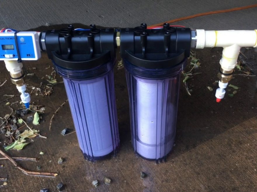 DIY RV Water Filtration System