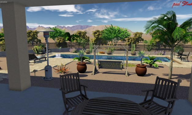 Pool Project – color rendering