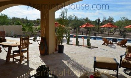 Fantastic resort style pool area