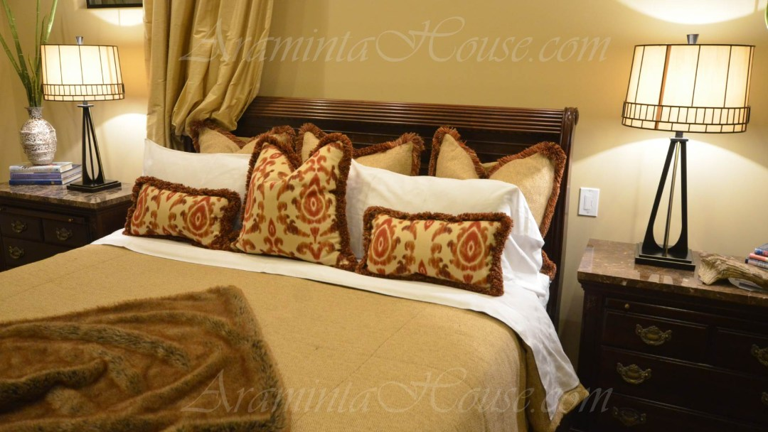 Comfort and luxury in the Master suite