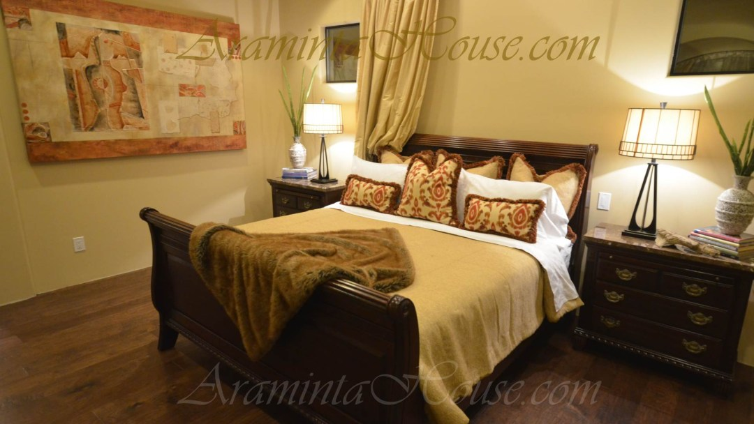A comfortable Master suite