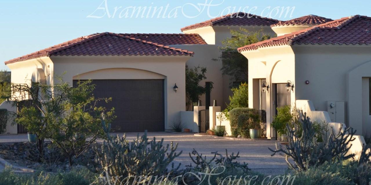 Araminta House front