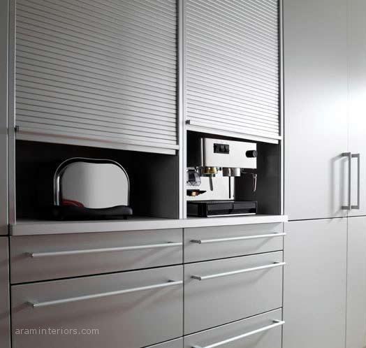 Los prcticos accesorios interiores para muebles de cocina