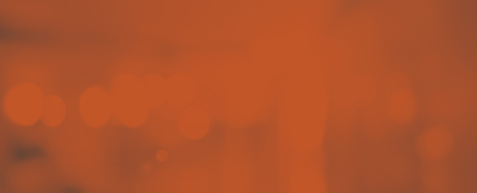 orange banner background