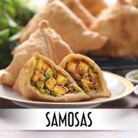 Samosas - Savory Fried Indian Appetizer