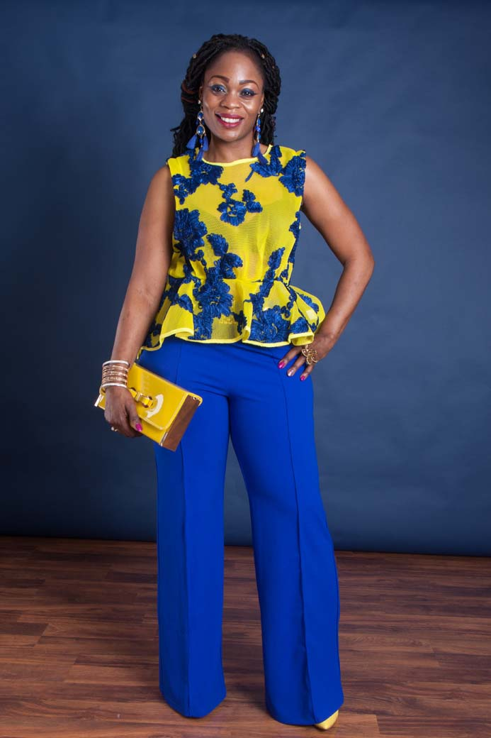 Blue And Yellow Outfit : yellow, outfit, Yellow, Women's, Outfit