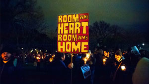 room in heart and hone - 2015 get up vigil melbourne