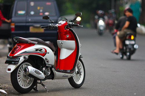 Modifikasi Honda Scoppy rasa Thailand  Blognya Arantan