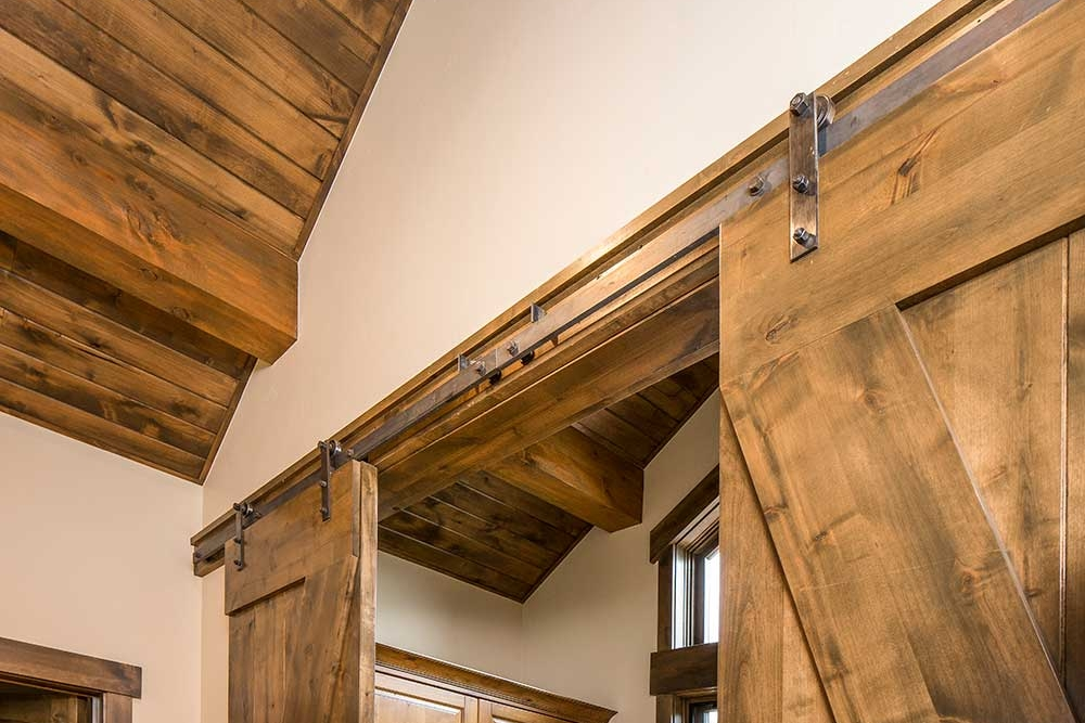 4 O Clock Custom Home Barn Door