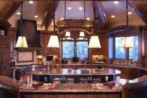 Blue River Custom Home Kitchen