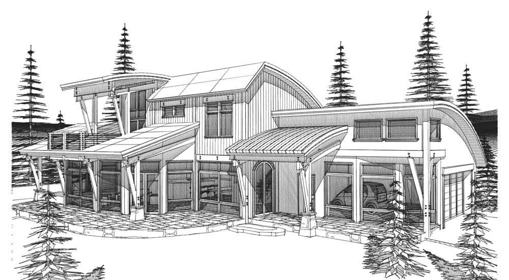 Solar Straw Bale House