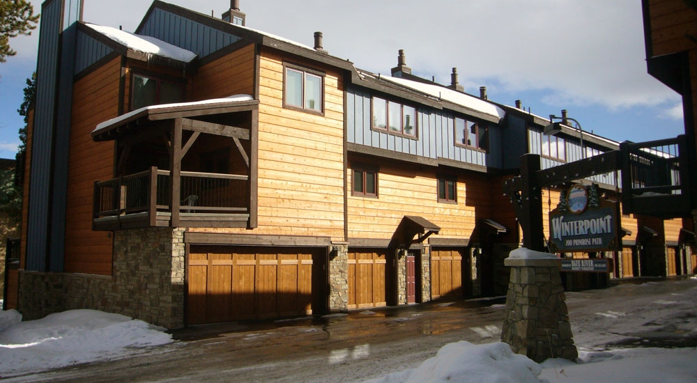 Winterpoint Townhomes Breckenridge Remodel