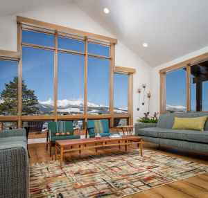 Breckenridge Highlands Living Area and View
