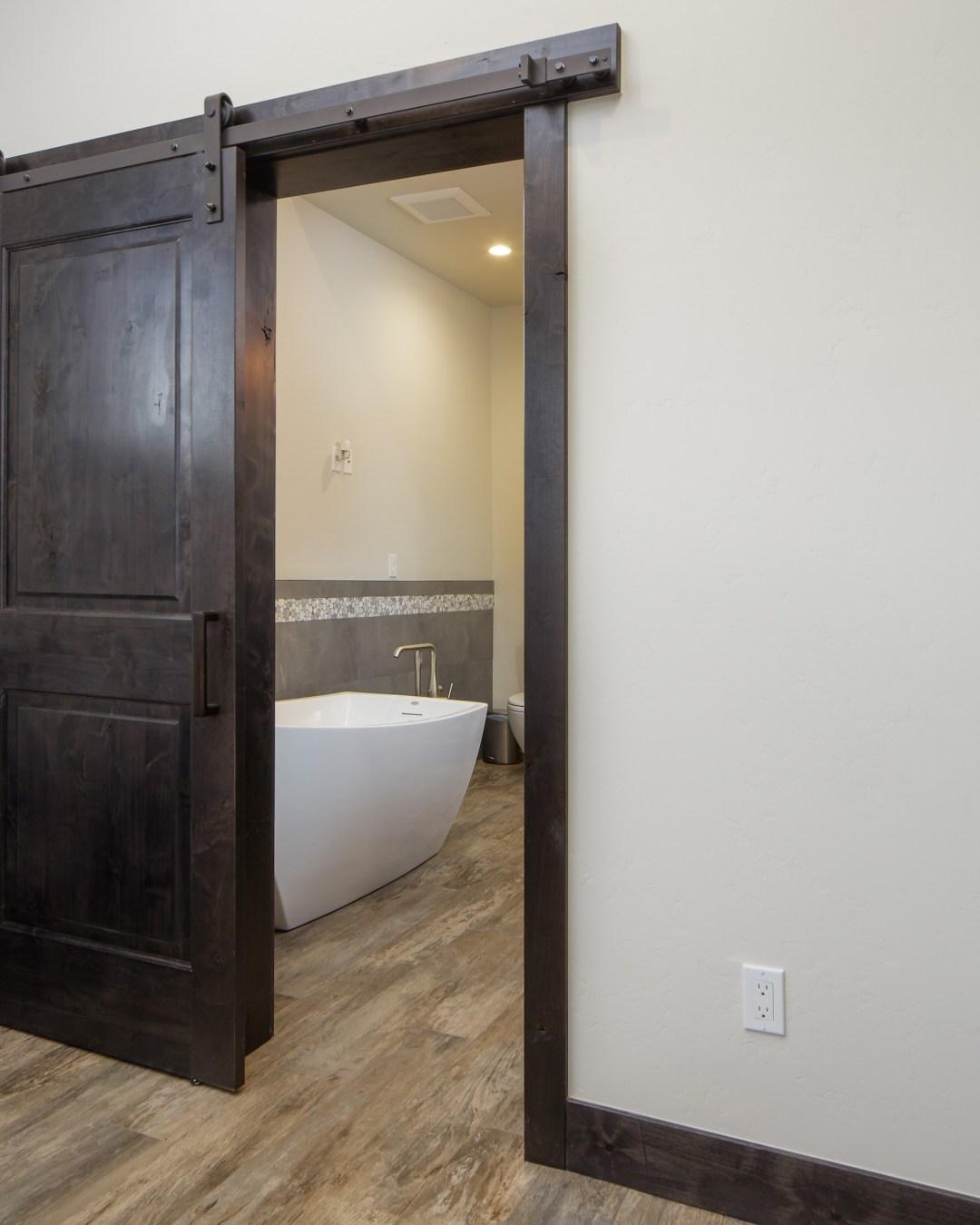 Whispering Pines Residence Bath Door