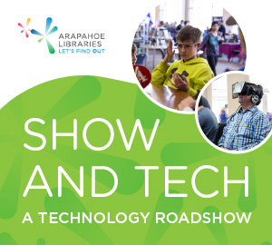 Come play with up-and-coming technology at the Show and Tech event