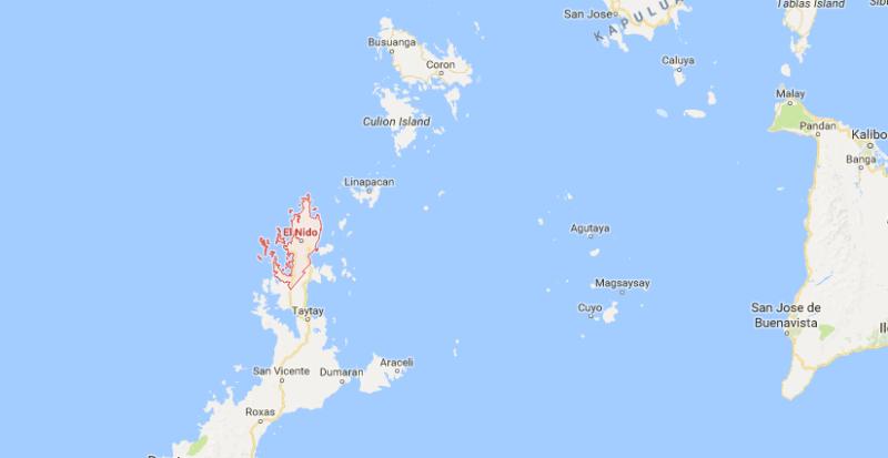el nido in palawan island