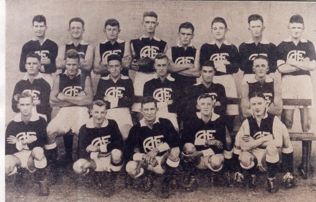 AFC 1933 premiers