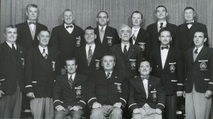 Ararat Football Club Committee 1956