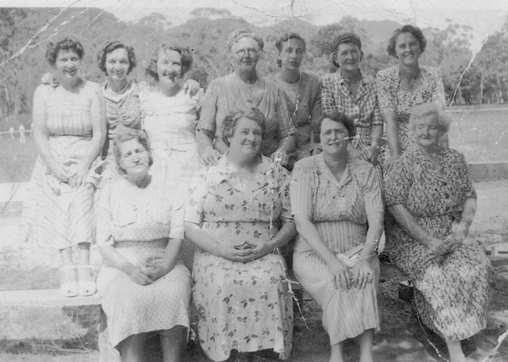 AFC Ladies Committee about 1947-49