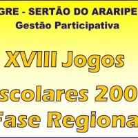 XVIII Jogos Escolares 2009 - Fase Regional