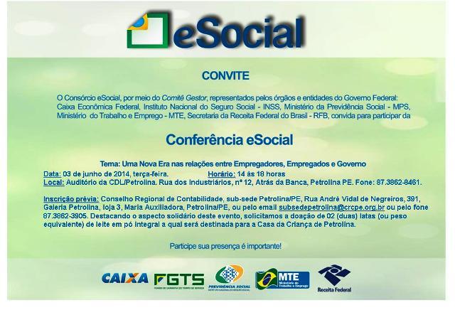 Gerência Regional do Trabalho e Emprego de Petrolina realiza Conferência eSocial