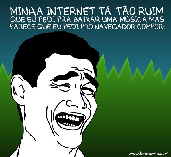 Internet desprezível em Araripina, você concorda?