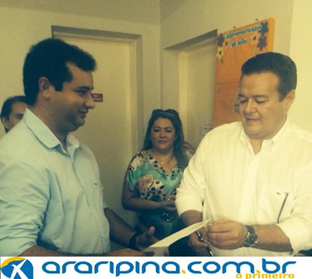 Moisés Filho assume a Secretaria de Infraestrutura