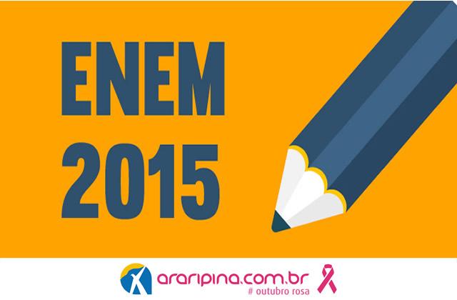 Confira cinco dicas para um bom desempenho na redação do Enem 2015