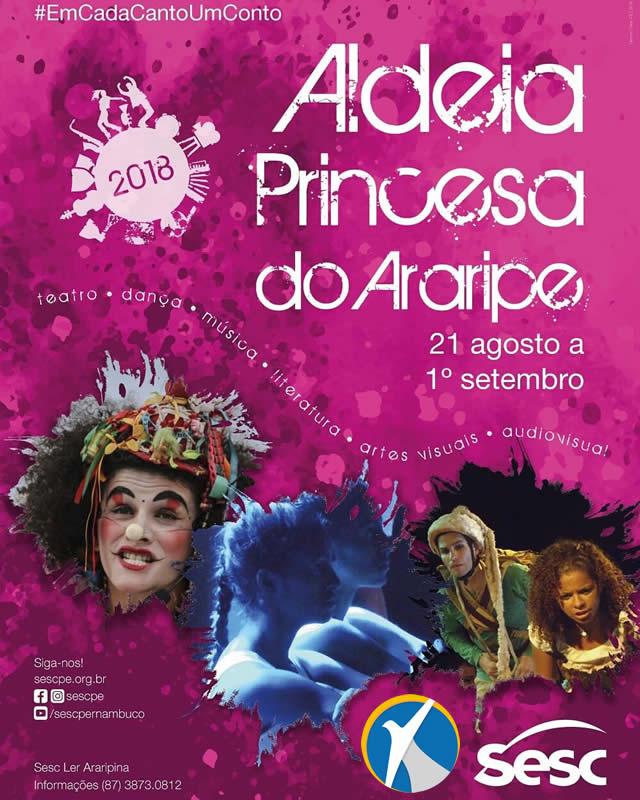 Sesc dá início ao Aldeia Princesa do Araripe hoje (21) de agosto