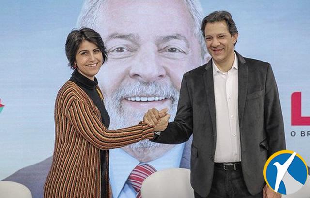 Lula entrega a Haddad a missão de levar o PT ao segundo turno