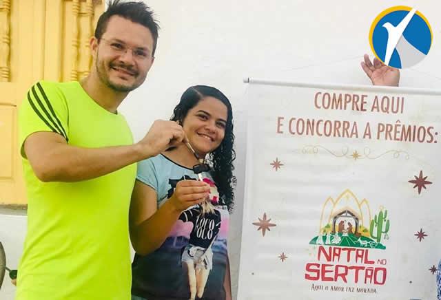 Com 80 prêmios e 1 moto 0km, CDL de Araripina festeja sucesso da Campanha Natal no Sertão