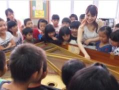 ピアニスト新崎誠実 学校アウトリーチ