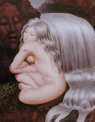 女体と顔のだまし絵