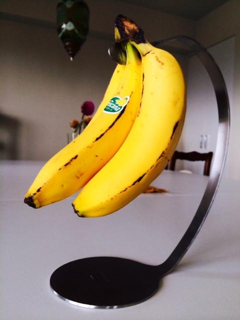 体が疲れると口内炎が出来やすいのでバナナで予防してみた
