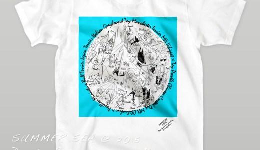 """""""SUMMER SEA@2015 〜犬達の夏休み〜 in awajishima"""" のARATA HOUSEオリジナルグッズが完成しました!"""