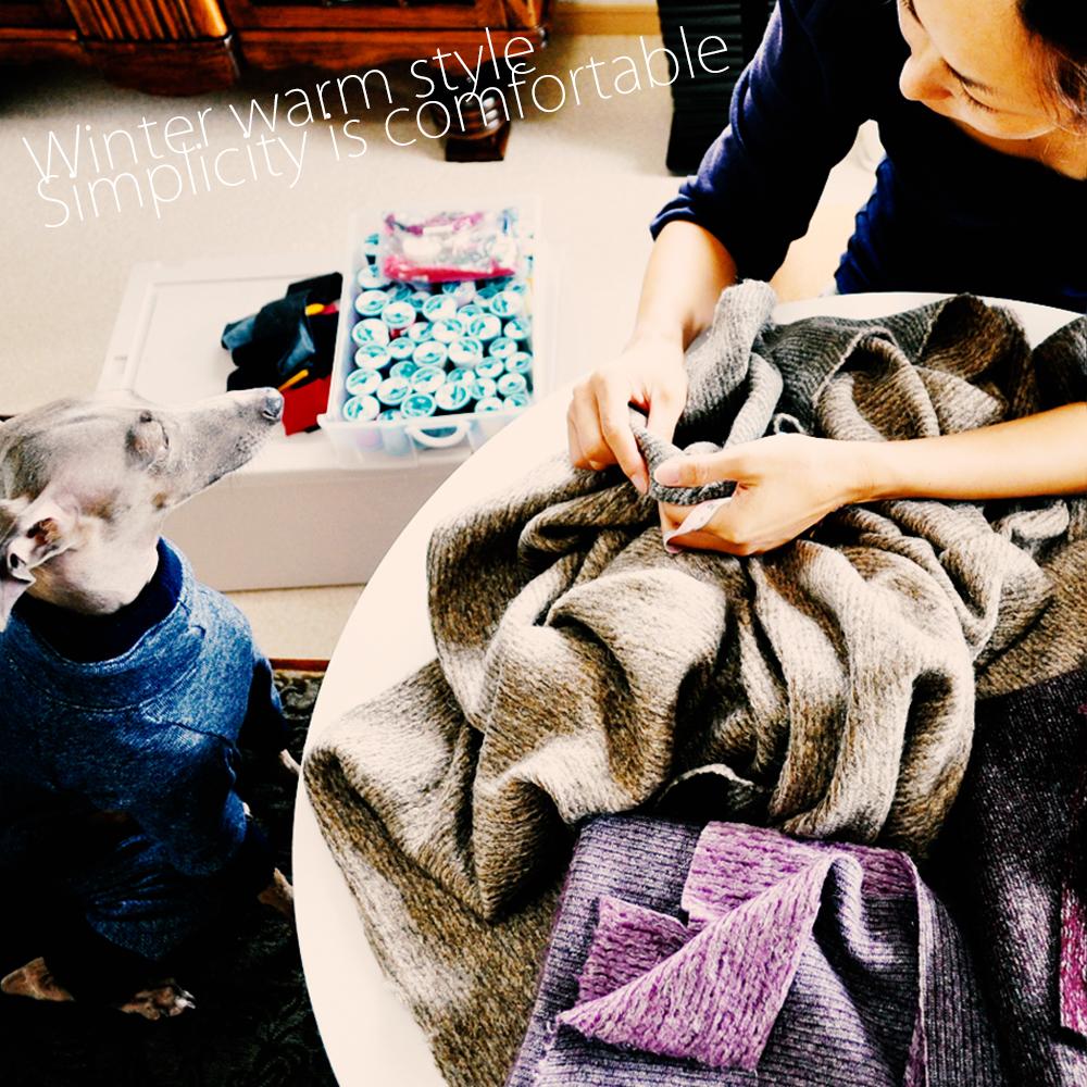 【ARATA HOUSEメルマガ Vol.68】考え、感じて生地を選んでいく。犬服の生地の仕入れ方|2015/11/30発行