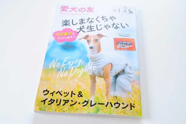 クリスマスの小さな贈り物「愛犬の友|ウイペット&イタリアン・グレーハウンド」