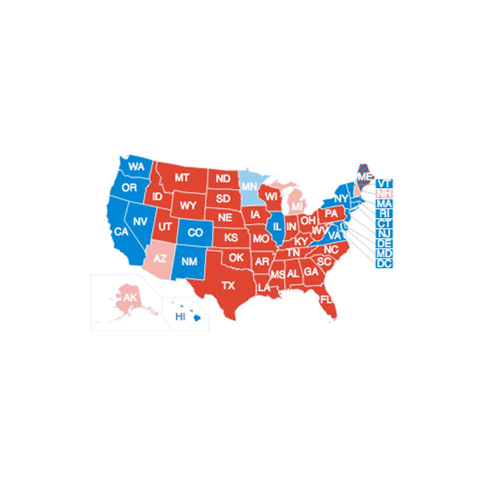 2016年米大統領選挙