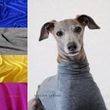 「2017.冬の新作 New color debut!」シンプルだからこそ、愛犬が輝く「犬服|Italian Classic|イタリア製ストレッチ天竺ニット」
